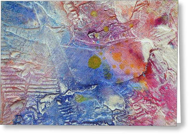 Greeting Card featuring the painting Abstract 8 by Tracy Bonin
