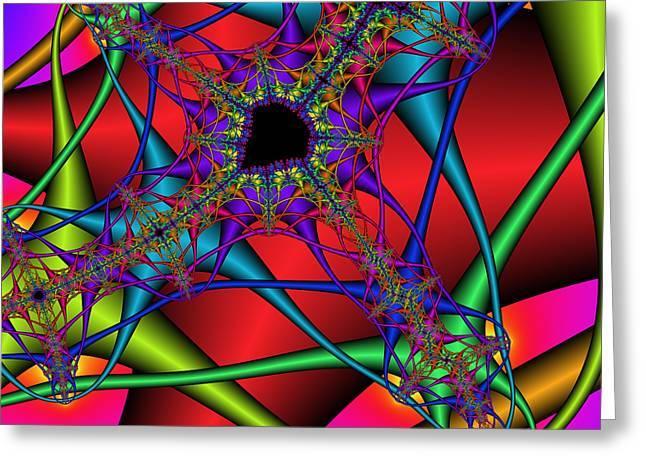 Abstract 82 Greeting Card by Rolf Bertram