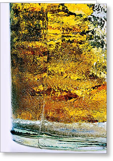 Abstract #8442 Greeting Card