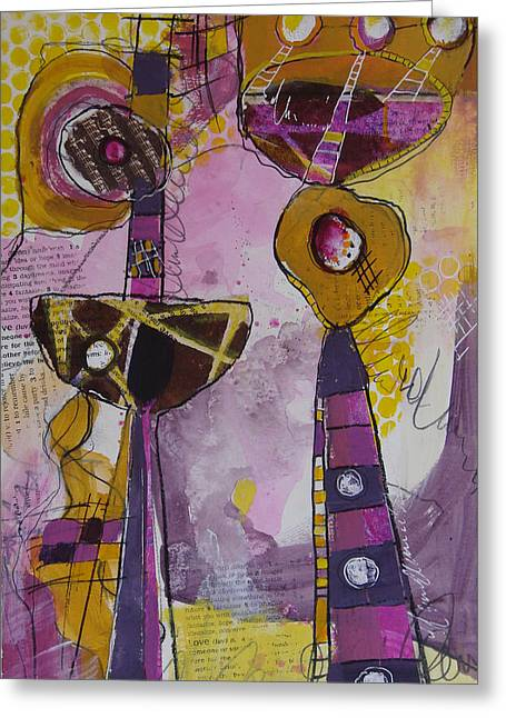 Abstract 86 Greeting Card