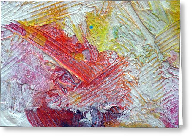 Greeting Card featuring the painting Abstract 9 by Tracy Bonin