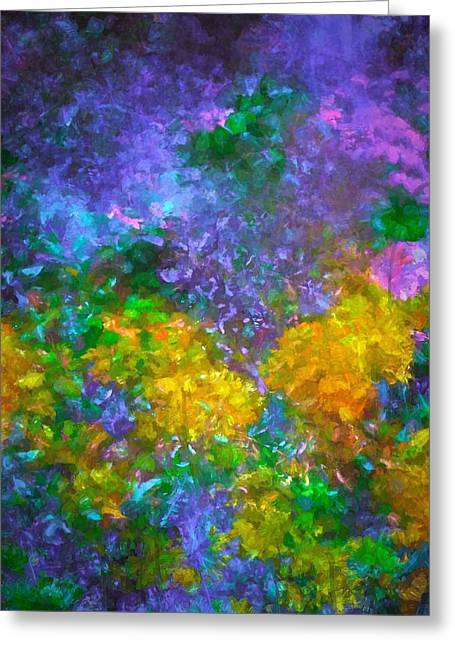 Abstract 92 Greeting Card by Pamela Cooper