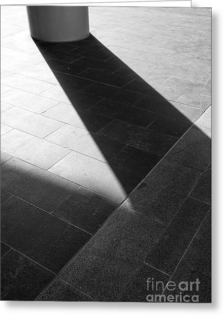 Abstract Architectural Shadows Greeting Card by Emilio Lovisa