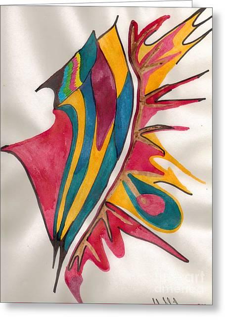 Abstract Art 102 Greeting Card