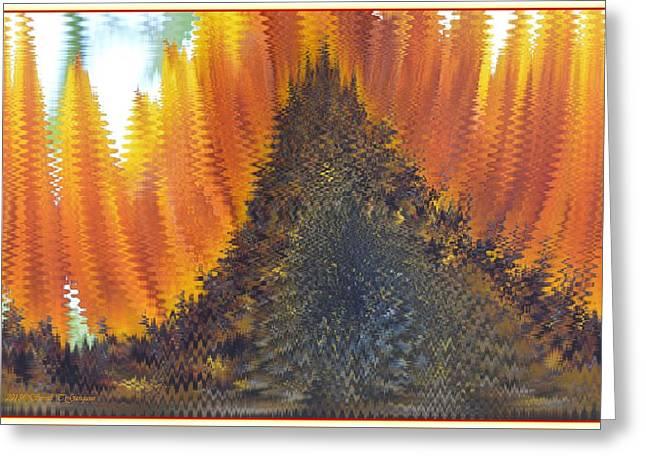 Abstract Art 5 Greeting Card by Sonali Gangane