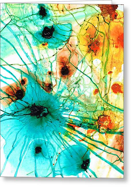 Abstract Art - Possibilities - Sharon Cummings Greeting Card