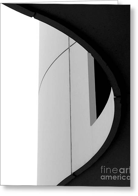 B / W   Abstract  Greeting Card