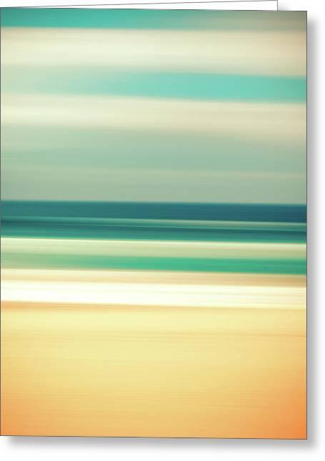 Abstract Beach Greeting Card