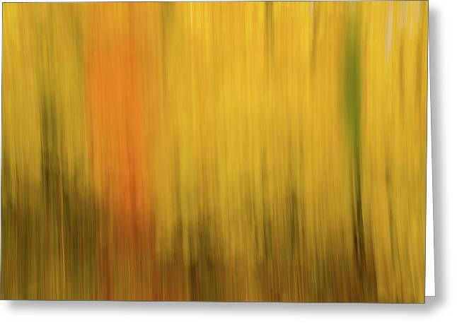 Abstract Blur Number 2 Greeting Card