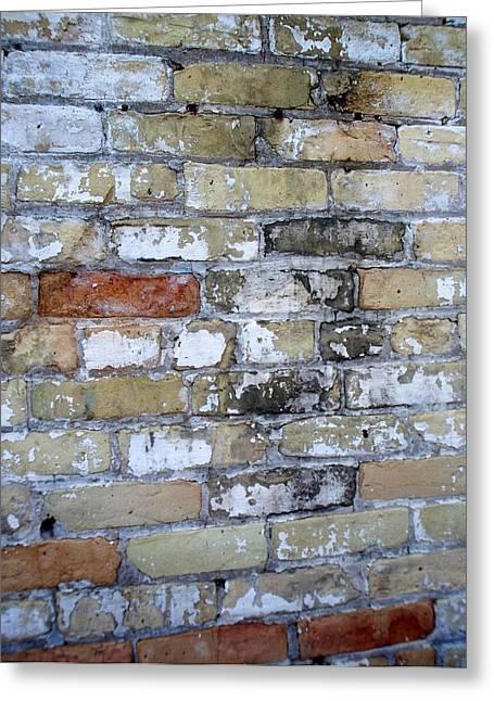 Abstract Brick 10 Greeting Card
