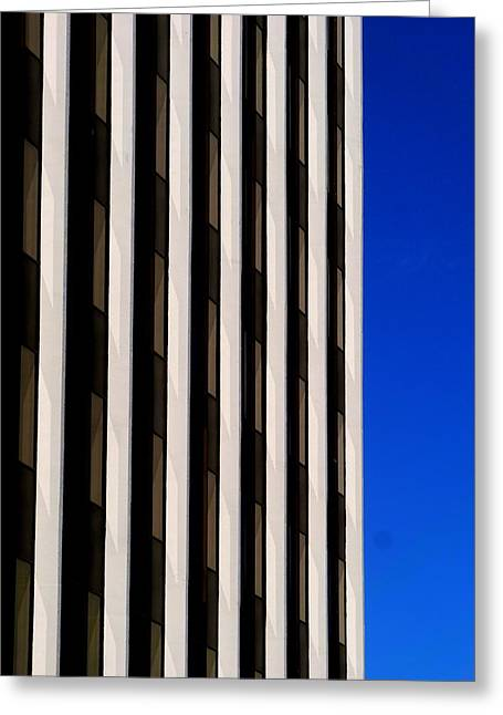 Abstract Building 2011 Greeting Card