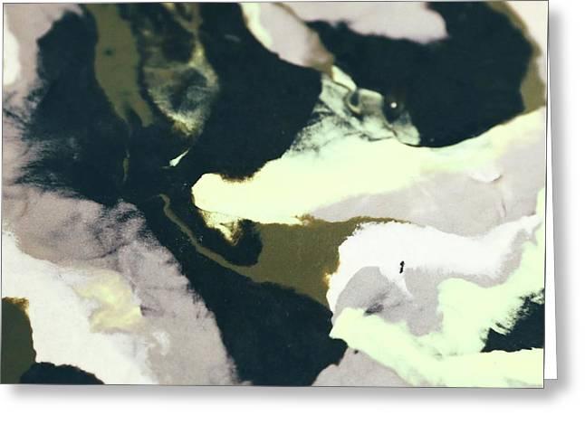 Abstract Camo Greeting Card