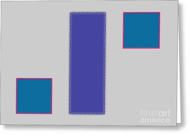 Abstract Composition 04 Greeting Card by Celestial Images