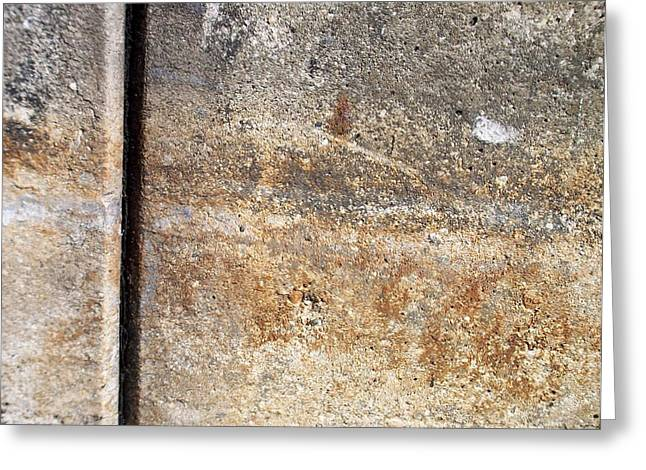 Abstract Concrete 17 Greeting Card