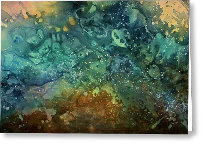 Abstract Design 27 Greeting Card by Michael Lang