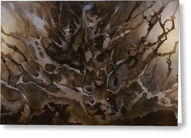 Abstract Design 57 Greeting Card by Michael Lang