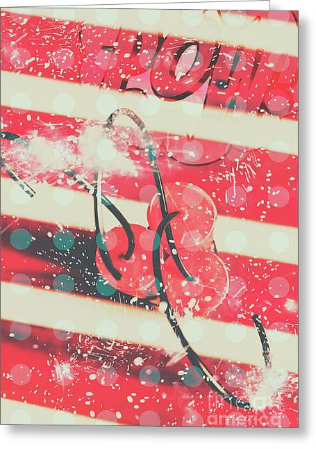 Abstract Dynamite Charge Greeting Card
