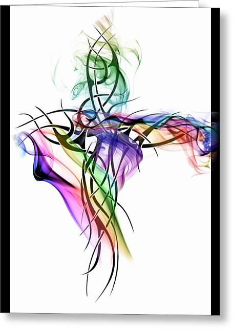 Applause Greeting Card by Mark J Dunn