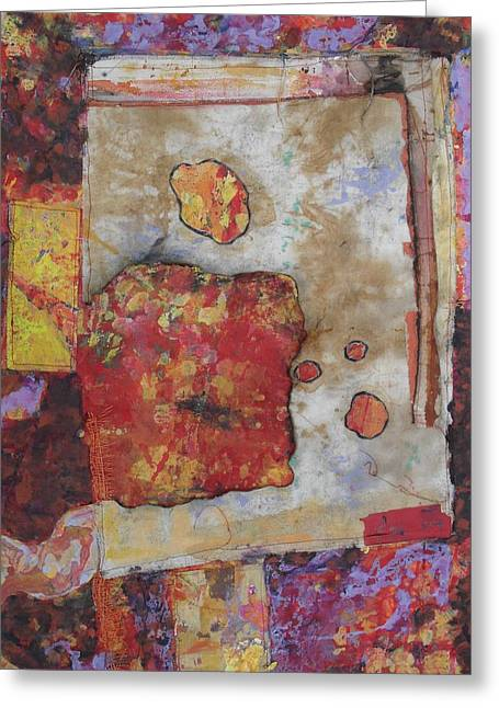 Abstract Expression 5 Greeting Card by Richard Tuvey
