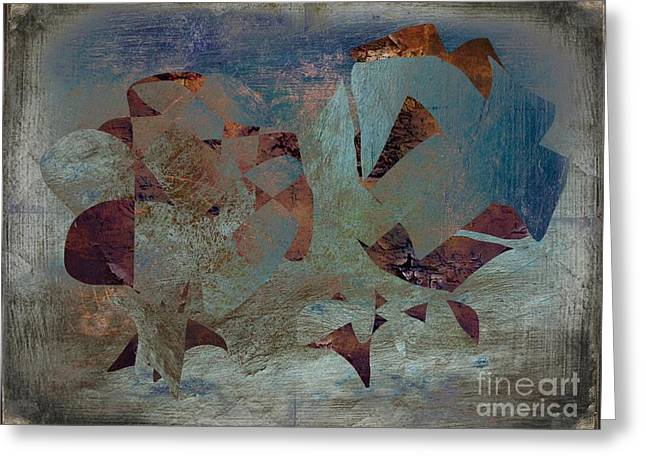 Abstract Expressionisem No.114 Greeting Card by Roy Lindquist