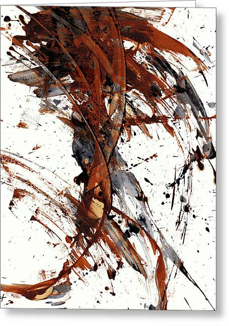 Abstract Expressionism Series 51.072110 Greeting Card