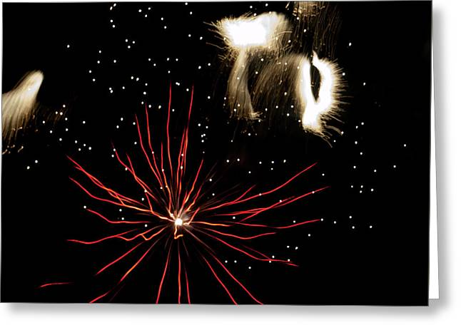 Abstract Fireworks IIi Greeting Card
