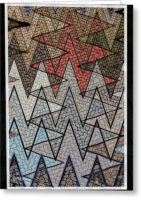 Abstract Floor  Greeting Card