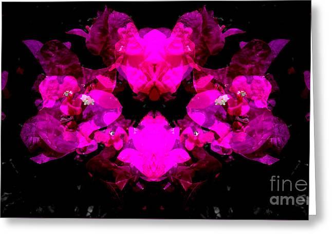 Abstract Floral No.2 Greeting Card