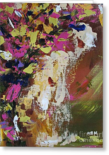 Abstract Floral Study Greeting Card