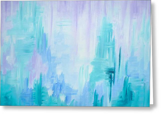 Abstract Frost 1 Greeting Card