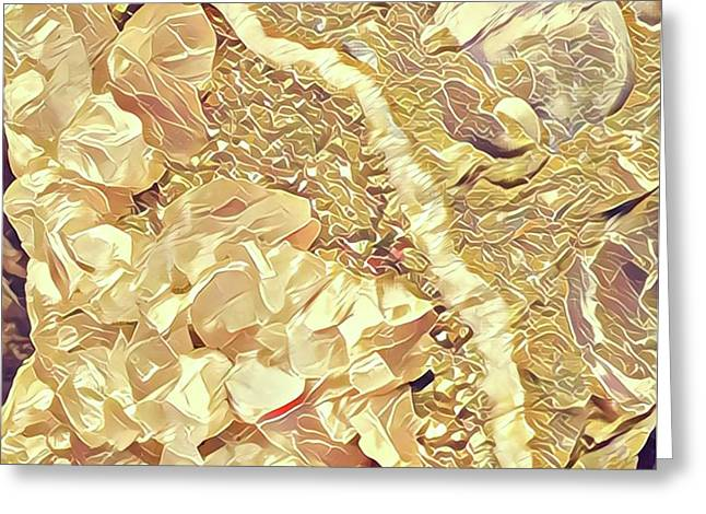 Abstract Geological Art Greeting Card