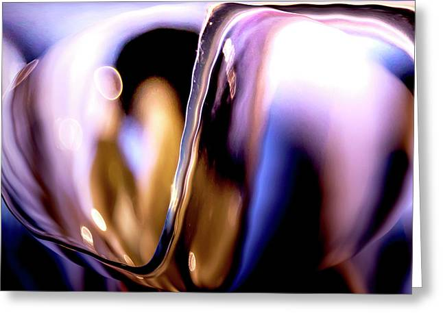 Abstract Glass Greeting Card