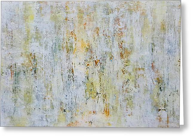 Abstract Grassland Greeting Card