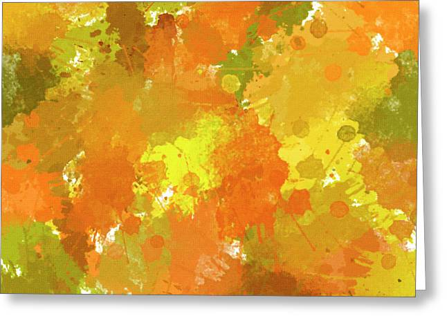 Abstract I Greeting Card by Christina Rollo