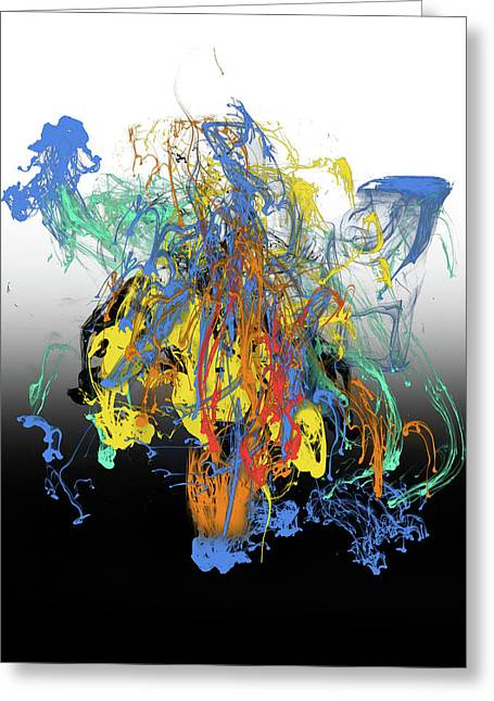 Abstract Idea 8 Greeting Card by David Griffith