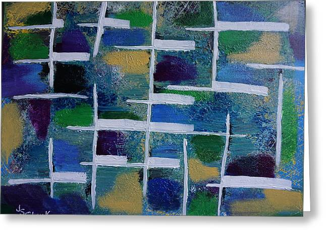 Abstract II Greeting Card