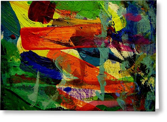 Print Card Greeting Cards - abstract II Greeting Card by John  Nolan
