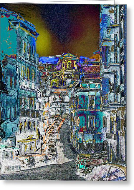 Abstract  Images Of Urban Landscape Series #11 Greeting Card