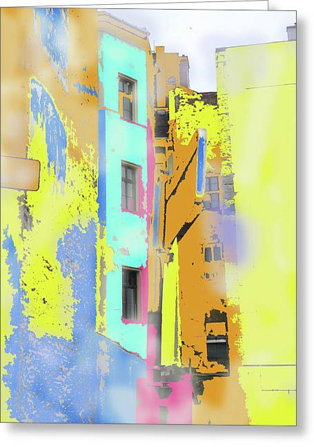 Abstract  Images Of Urban Landscape Series #2 Greeting Card