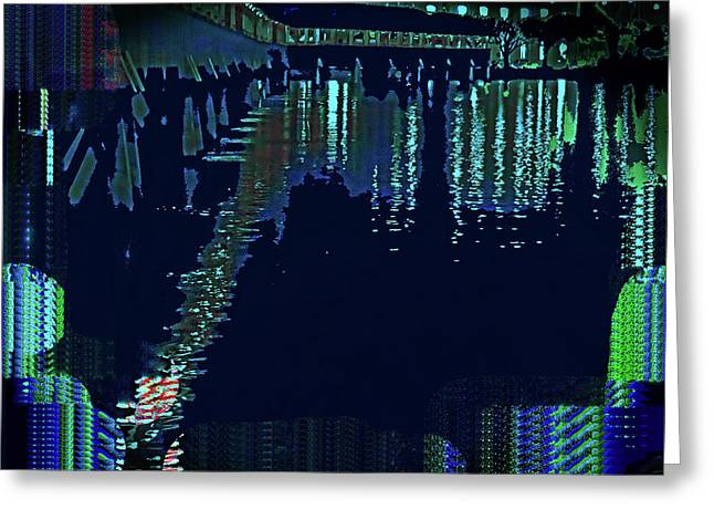 Abstract  Images Of Urban Landscape Series #7 Greeting Card