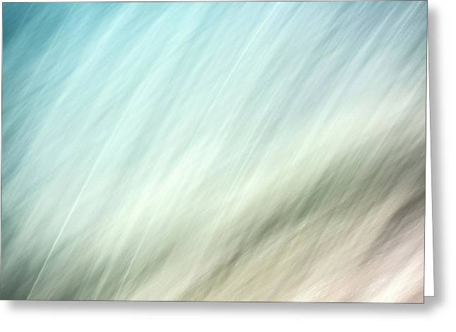 Flow 5 Greeting Card by Janet Burdon