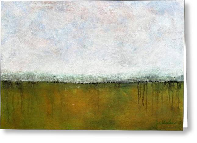 Abstract Landscape #311 Greeting Card