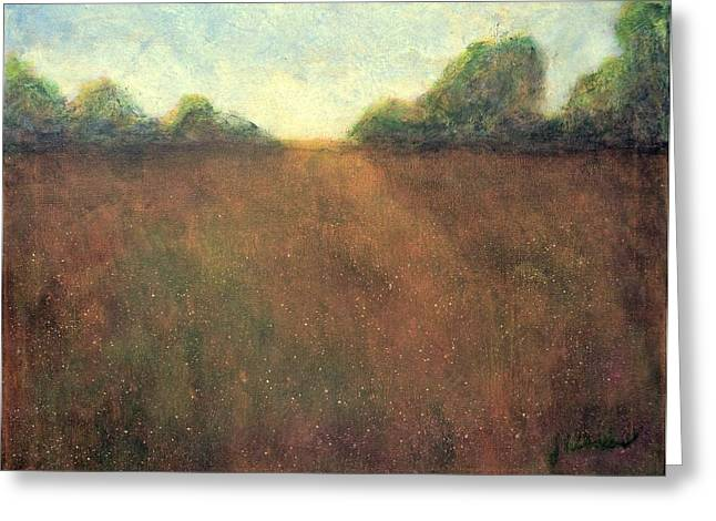 Abstract Landscape #212 - Art By Jim Whalen Greeting Card