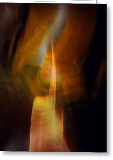 Abstract Light Greeting Card