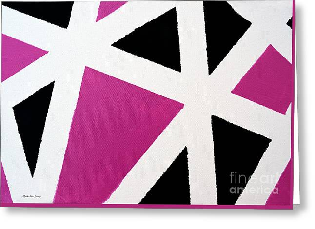 Abstract M1015l Greeting Card