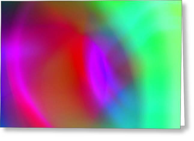 Abstract No. 3 Greeting Card