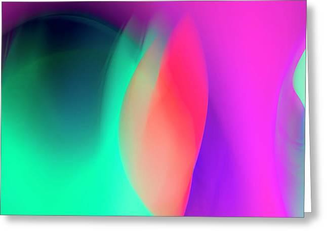 Abstract No. 6 Greeting Card