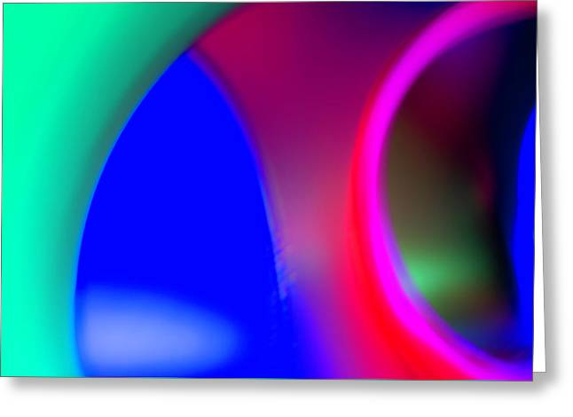 Greeting Card featuring the photograph Abstract No. 9 by Shara Weber