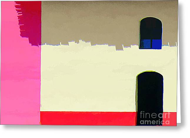 Abstract No. Twenty Five Greeting Card by Tom Griffithe
