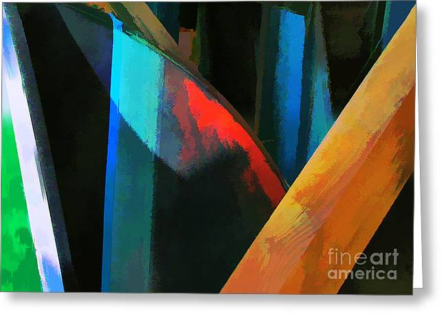 Abstract No. Twenty Four Greeting Card by Tom Griffithe